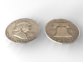 3d franklin half dollar