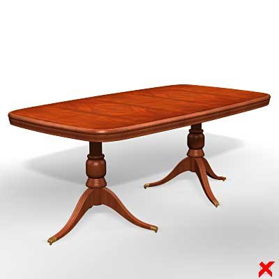 table dining 3d max