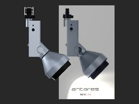 lighting antares compass 3d model