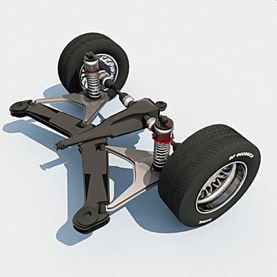 max rear axle suspension