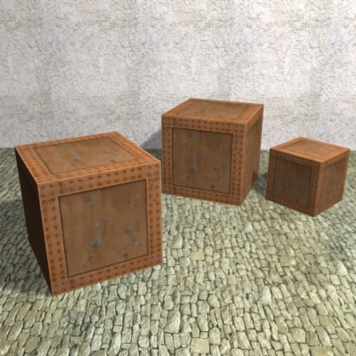 iron box games 3d model