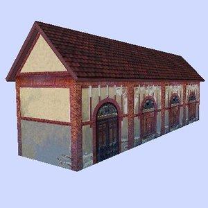 building realtime games 3d model