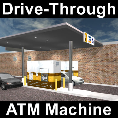 3d bank machine model