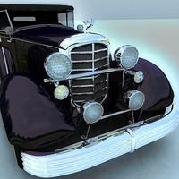 cadillac phaeton 3d model