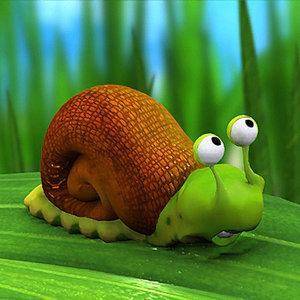 maya snail animation