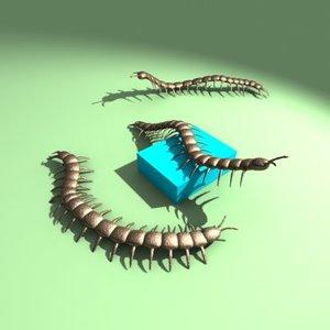 3dsmax centipedes