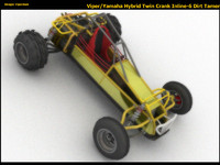 Hybrid V6 Offroad Concept