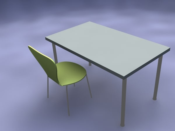 free max model table chair