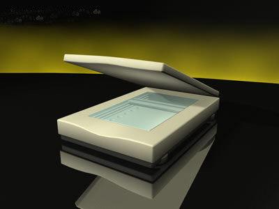 3d flatbed scanner model