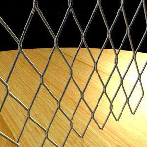 3dsmax wire lattice fencing