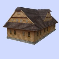 3d model of building realtime games