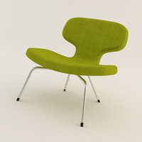 artifort libel chair 3d model