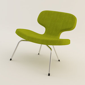 artifort libel chair 3d model