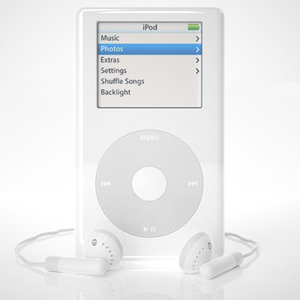 3d model of apple ipod 4th generation