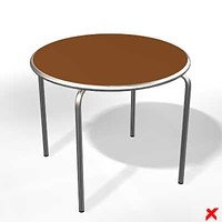 free table occasional 3d model