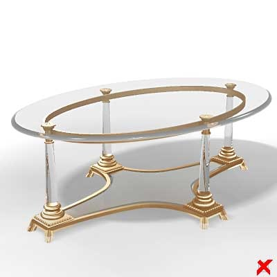 3ds max table glass