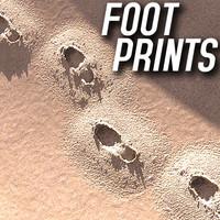 3d track footprints