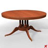 3ds max table furniture