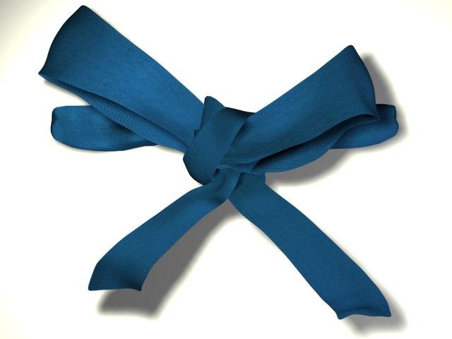 3ds decorative bow tie