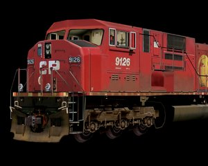 gm locomotive 3d model
