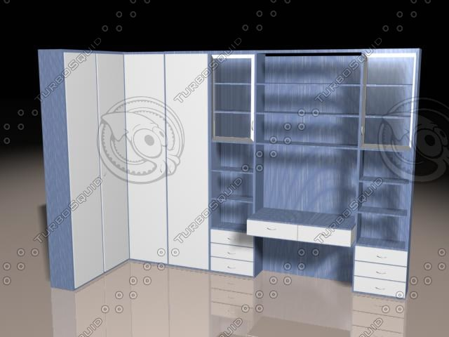 3ds max cupboards