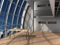 meeting room 3d max