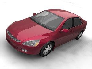 2004 accord sedan 3d model