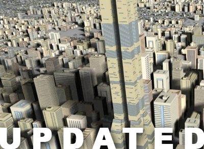 3ds max buildings skyscraper