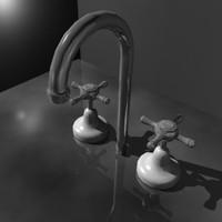 free obj model taps spout