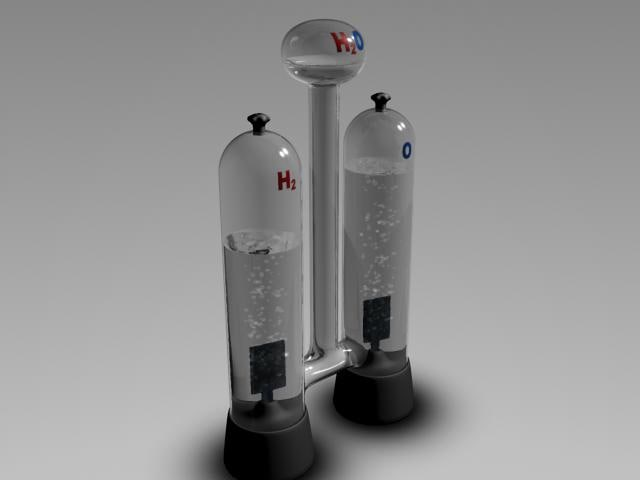 3d hoofmannean apparatus electrolysis
