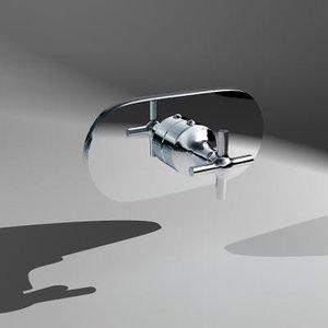 3d model trim faucet axor terrano