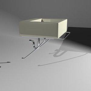 3d 5052 aquagrande lavatory model