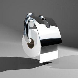 3d toilet paper holder axor model