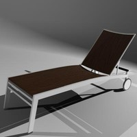 ITAL Woven Patio Lounge Chair