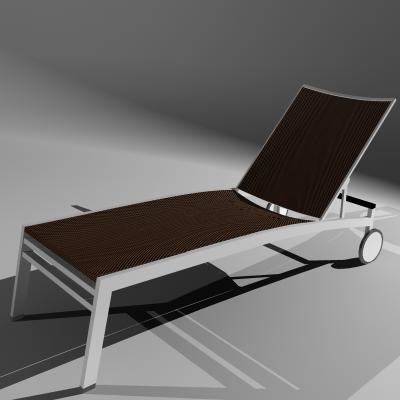 3d chair ital woven patio model