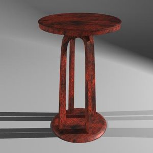 table bed 3d ma