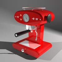 3d model coffee machine francisfrancis! x1
