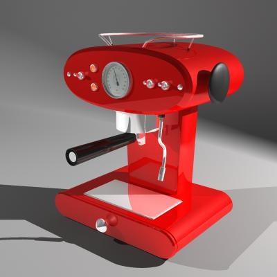3d model coffee machine francisfrancis! x1