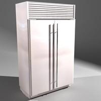 Sub Zero Twin Door Refridgerator