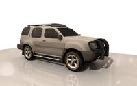 2004 nissan xterra 3d model