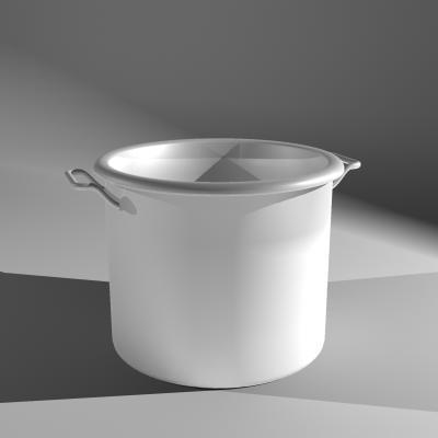 metal pot 3d model