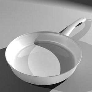 sauce pan metal 3d ma