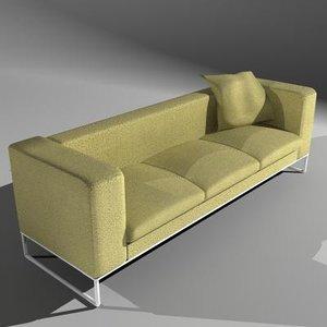 maya sofa 3 seat pillow