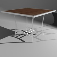 ITAL 4-seat patio table