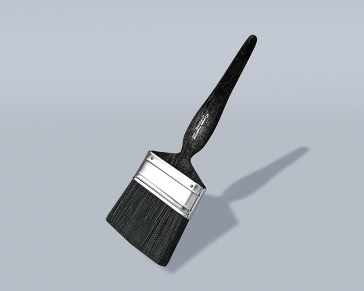 paintbrush paint 3d model
