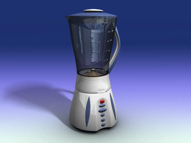 mixer blender 3d model