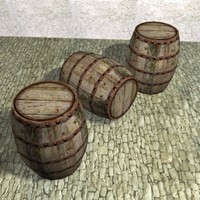 barrel games architectural 3d model