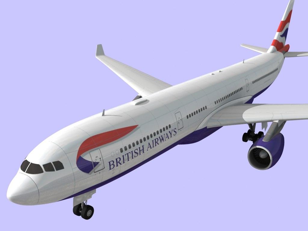 airbus 330 british airways max