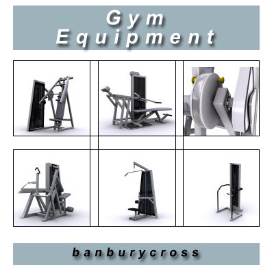 3d gym equipment volume 1