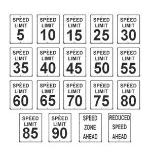 3d road street signs